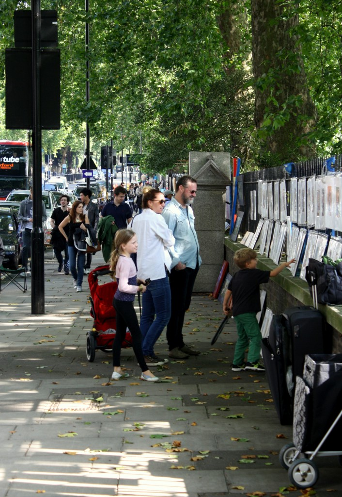 bayswater road art market
