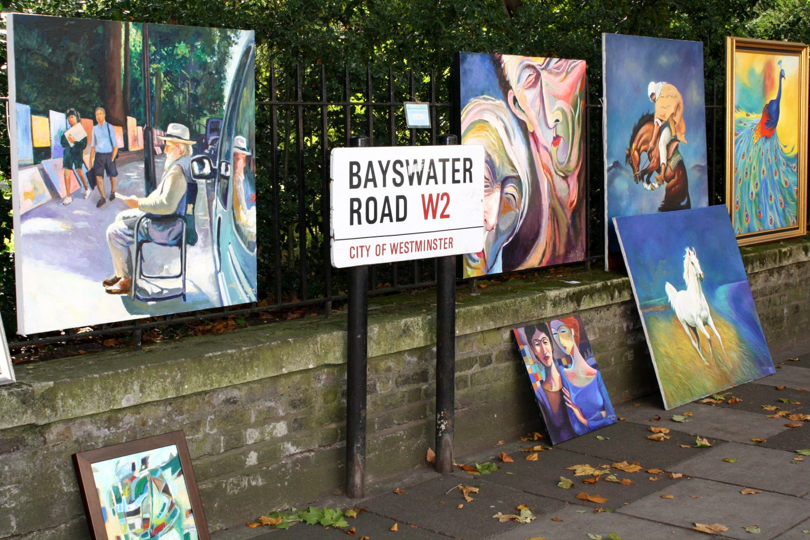 bayswater road artists
