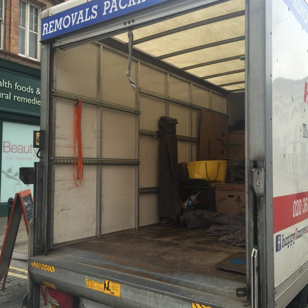 First stage of pick-up in Fulham