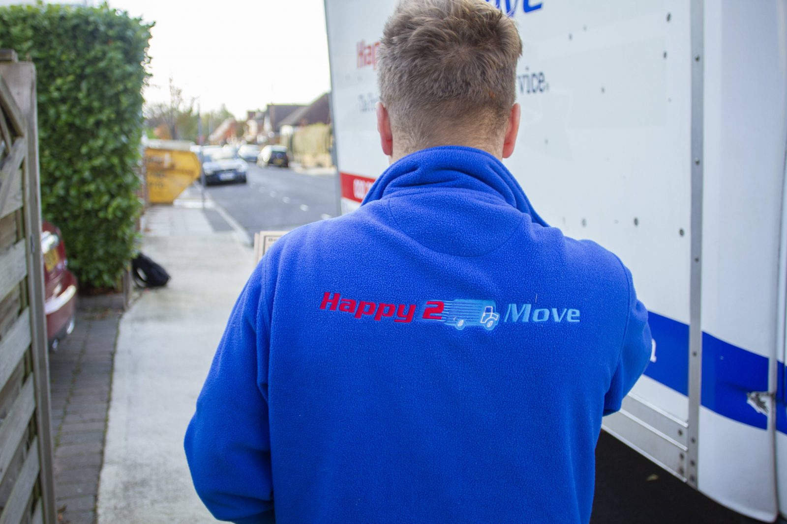 Happy mover
