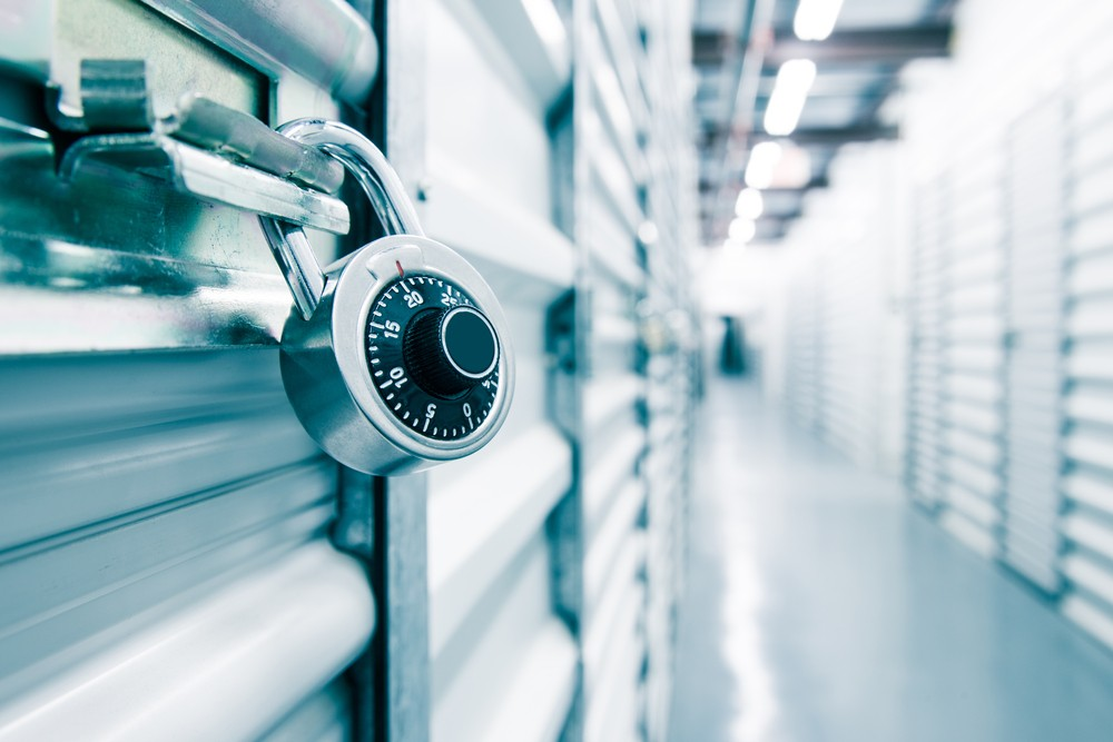 Self Storage in London padlock